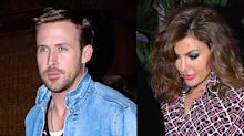 Eva Mendes and Ryan Gosling Held Hands Out