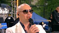Pitbull Talks New Song, Hollywood Star