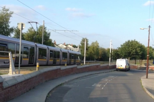 Two arrested over fatal shooting at Luas tracks