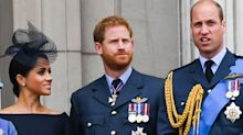 """Prince Harry and Prince William Had a """"Showdown"""" About Meghan Markle's Vogue Cover"""
