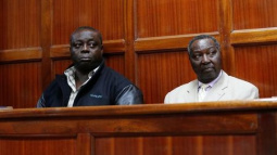 Former Kenyan officials charged with theft, fraud
