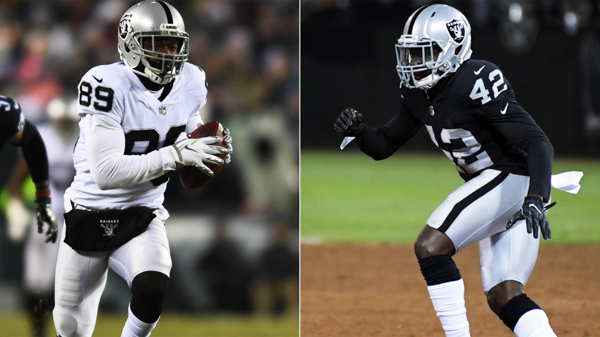 Report: Raiders shopping former first-round picks Amari Cooper, Karl Joseph