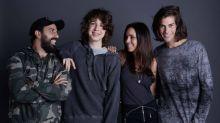 Filho de Lucana Gimenez e Mick Jagger, Lucas Jagger lança coleção de roupas aos 17 anos