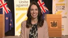 New Zealand's Jacinda Ardern Continues TV Interview During Earthquake