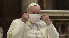 Informe: papa recibió a obispo infectado por COVID-19