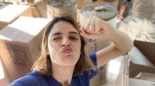 """Rafa Brites ajuda a construir seu próprio escritório: 'Vou fazer besteira"""""""