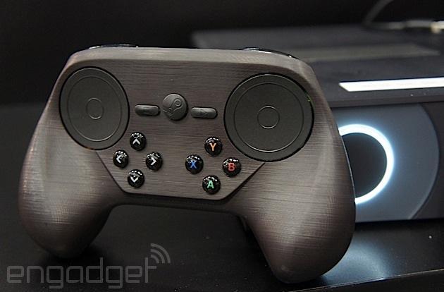 Valve's new Steam controller feels familiar, but strange