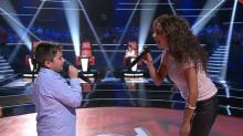 Rosario Flores se olvida de la letra de un tema de su madre y un concursante de La Voz Kids  le echó un cable