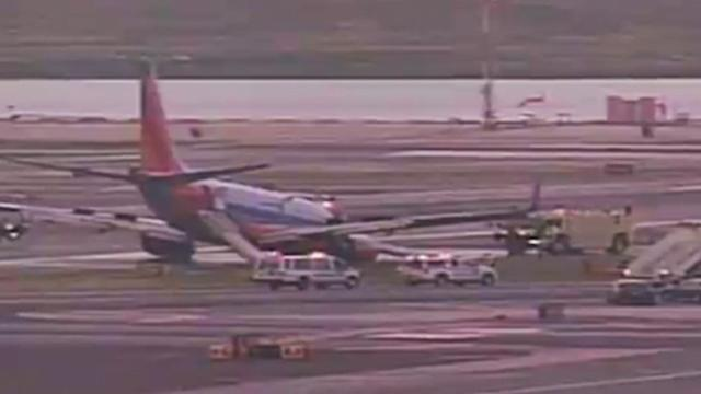 Southwest Airlines Flight 347 Has Gear-Up Landing