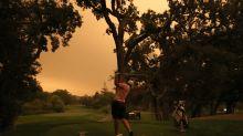 PGA Tour's Safeway Open tees off near San Francisco after foggy, hazy orange skies