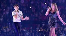 Taylor Swifts brings Niall Horan on stage at Wembley