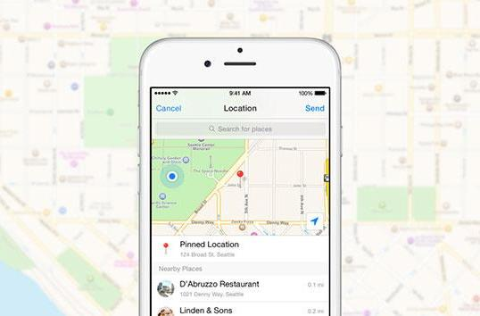 Facebook Messenger only shares your location when you tell it to