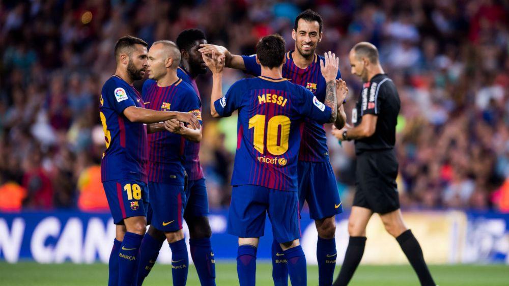 Barcelona: calendário, resultados e partidas na temporada 2017/2018