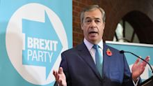 Nigel Farage says the Brexit Party will contest every seat in Britain - if Boris Johnson doesn't drop his deal