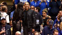 Überraschender Look: Barack Obama trägt Bomberjacke