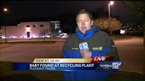 Dead infant found at recycling facility
