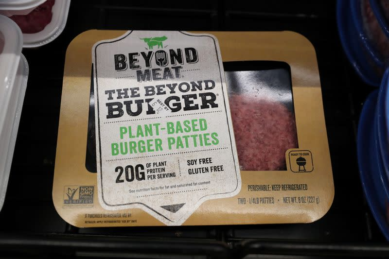 Beyond Meat shares sink as Wall Street startled by slowing sales