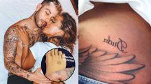 Anitta e Nego do Borel exibem tattoos românticas no Dia dos Namorados