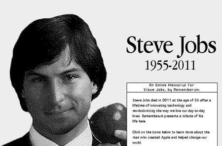 Online Steve Jobs memorial pays tribute to the original Mac OS