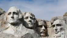 Mount Rushmore climber plunges 100 feet off George Washington's head, officials say