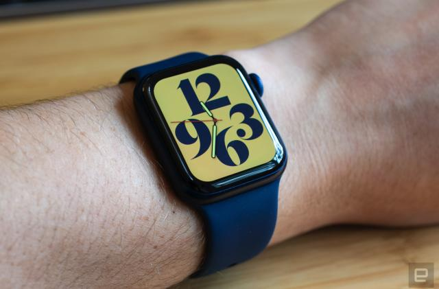 Walmart knocks over $50 off the 44mm Apple Watch Series 6
