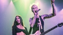 Megan Fox Joined Machine Gun Kelly On Stage At The Indy 500 Party