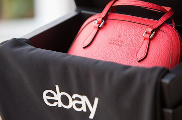 eBay will now verify luxury handbags sold on the site