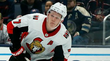 Coronavirus: Brady Tkachuk says Senators team-mates 'doing well' after positive tests