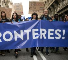 160,000 join pro-refugee protest in Barcelona