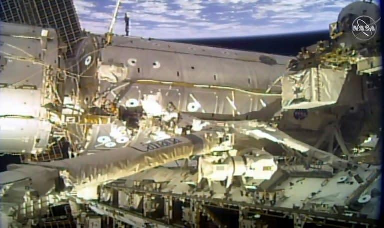 Two Russian cosmonauts NASA astronaut return from ISS – Yahoo News Australia