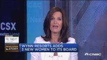 Wynn Resorts adds 3 new women to its board