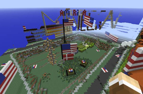 The Minecraft version of Denmark is being attacked, hilariously