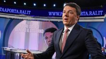 Renzi: non sono centroavanti di sfondamento ma faccio assist