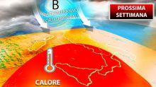 Meteo, da lunedì caldo africano ma tornano violenti temporali