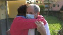 """""""Je reviens de l'enfer"""": après un mois à l'hôpital et un transfert en Vendée, ce patient guéri rentre chez lui"""