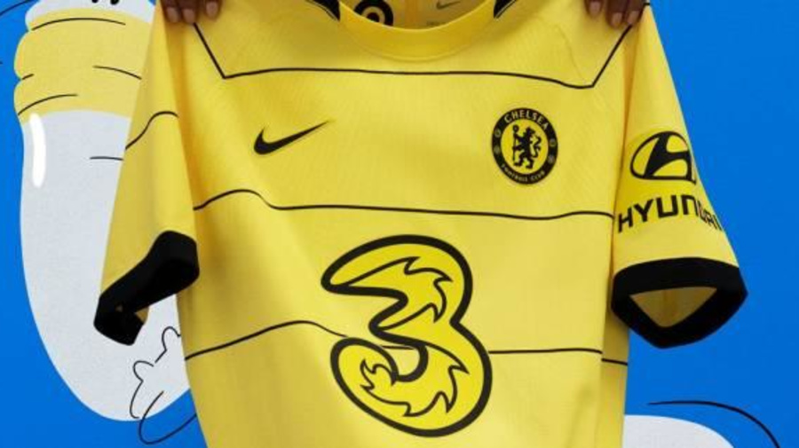 Foot - ANG - Chelsea - Un maillot jaune pour Chelsea à l'extérieur