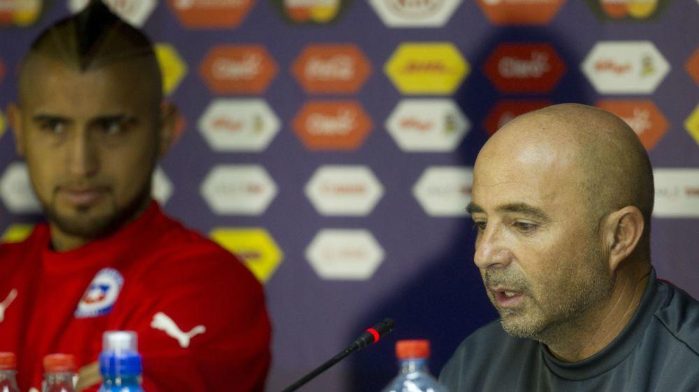 """Chili, Sampaoli : """"Vidal aime boire et ne se contrôle pas"""""""
