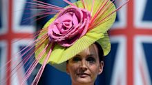 High hat fashion shares the stage at Britian's Royal Ascot horse races