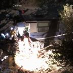 Several injured, 1 dead after a tour bus crashes in California