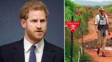 Wie einst seine Mutter Diana: Prinz Harry besucht afrikanisches Minenfeld