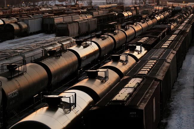 Crude-by-rail exports fall in January as Alberta started production cuts