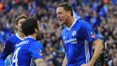 Matic thunderbolt seals Chelsea's progress to FA Cup final