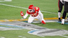 Report: Chiefs' Frank Clark arrested on felony weapons charge