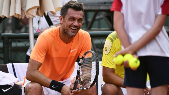 Whoops! AC Milan Legend Suffers Straight Sets Defeat in First Ever Professional Tennis Match