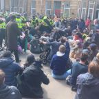 Scottish police free men held by UK immigration force
