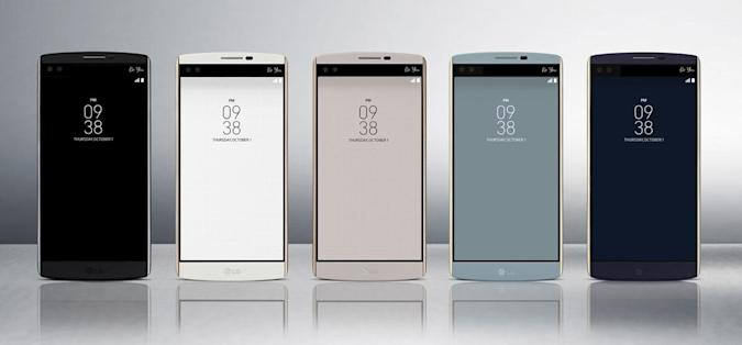LG's new superphone has two screens and two selfie cameras