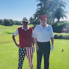 Trump Golfs with Kid Rock in Florida Amid Impending Release of Mueller Report