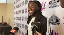 Alvin Kamara has a good feeling about new Tennessee Vols coach Josh Heupel, and his new role with NASCAR