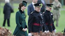 Duchess of Cambridge steps out in green for St Patrick's Day parade