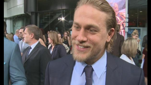 Charlie Hunnam: Interview at Pacific Rim premiere